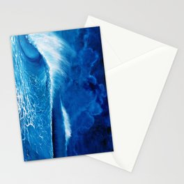 Pipeline in the night Stationery Cards
