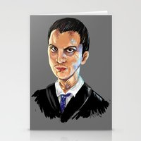 moriarty Stationery Cards featuring Jim Moriarty by Allie Morris