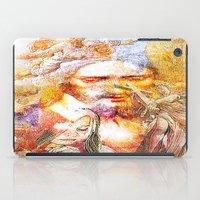 faith iPad Cases featuring Faith by Ganech joe