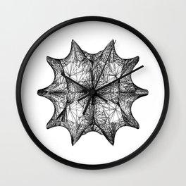 The Calabi-Yau Manifold - White Wall Clock