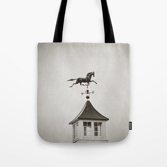 Horse Weathervane Tote Bag