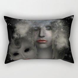 End Of Silence Rectangular Pillow