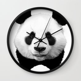 Panda Art Wall Clock