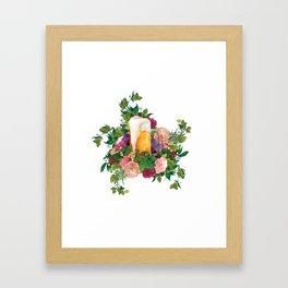 Beer Bouquet Framed Art Print