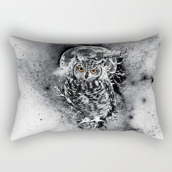 OWL BW Rectangular Pillow