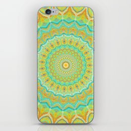 Citrus Burst - Mandala Art iPhone Skin
