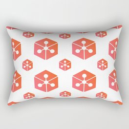 Lunyr - Crypto Fashion Art (Large) Rectangular Pillow