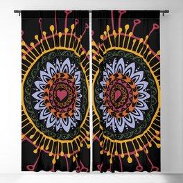 Mandala hand 1 Blackout Curtain