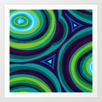 malachite Art Prints featuring Malachite by Alex Morgan