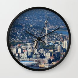 Space Needle Wall Clock