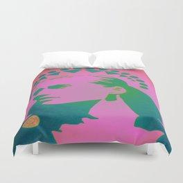 Sunrise Desert Icon Duvet Cover