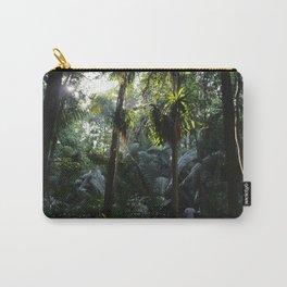 Lush Belizean Jungle Carry-All Pouch
