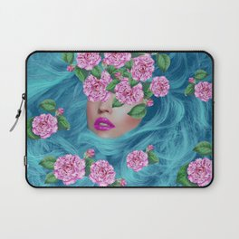 Lady with Camellias Laptop Sleeve