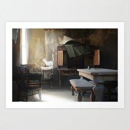 Abandoned Home Art Print