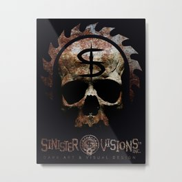 Sinister Visions Promo 2015 Metal Print