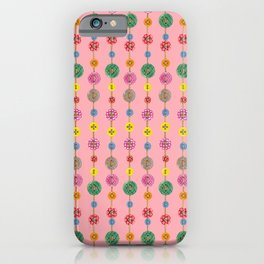 Colored Buttons 2 iPhone Case