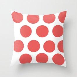 CirclePink Throw Pillow