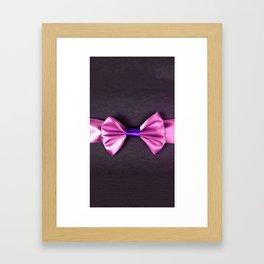the ribbon Framed Art Print