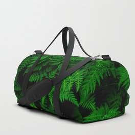 Deep Forest Ferns Duffle Bag