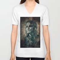 crowley V-neck T-shirts featuring Crowley by Sirenphotos