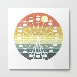 Them Park Ferris Wheel Metal Print