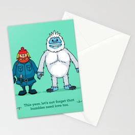 Yukon and Bumble Stationery Cards