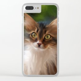 All Cats Have a Little Cheshire Clear iPhone Case