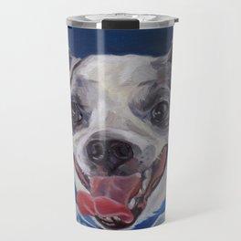 Chihuahua Dog Portrait Travel Mug