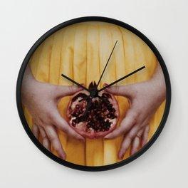 Punica granatum Wall Clock