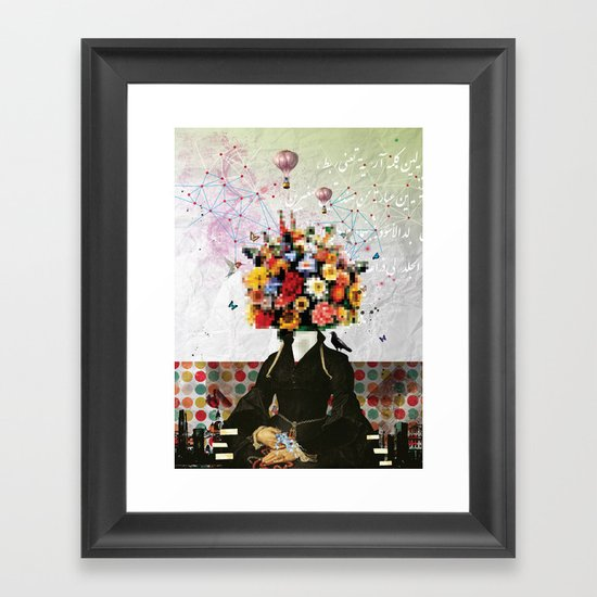 Madame Noon Framed Art Print