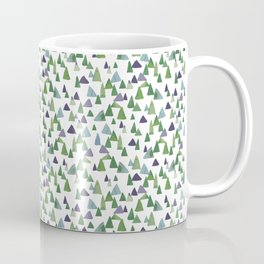 Abstract Watercolor Forest Coffee Mug