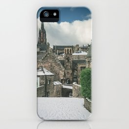 Old Town Snow iPhone Case