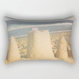 Sand Castle Summer Rectangular Pillow