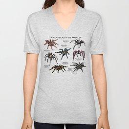 Tarantulas of the World Unisex V-Neck
