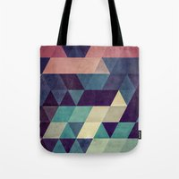spires Tote Bags featuring cryyp by Spires