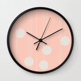 Dangle in Windsor Pink Wall Clock
