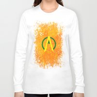 aquaman Long Sleeve T-shirts featuring Aquaman by Some_Designs