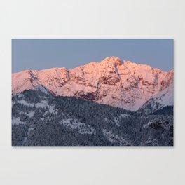 Electric Peak Canvas Print