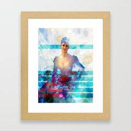 Rose Petal Framed Art Print