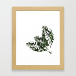 Tropical Exotic Palm Leaves I Framed Art Print