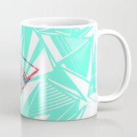 pyramid Mugs featuring Pyramid by Flester