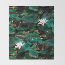 Lotus - A Pattern Throw Blanket
