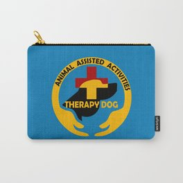 Animal Assisted Activities  - THERAPY DOG logo Carry-All Pouch