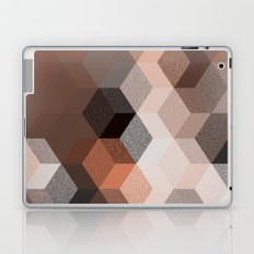 CUBE 2 BROWN Laptop & iPad Skin