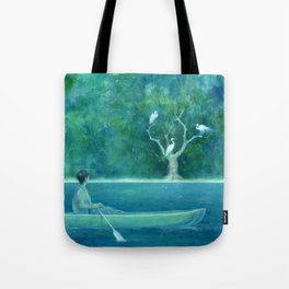 The farther shore Tote Bag