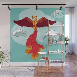 Phoenix Wall Mural