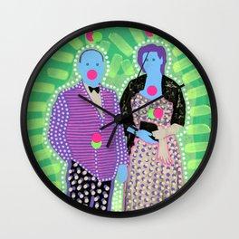 The Invisible Gala 001 Wall Clock