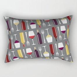Food & Wine Rectangular Pillow