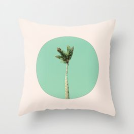 The Palm Life Throw Pillow