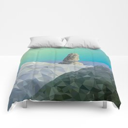 This is Not Easter Island Comforters